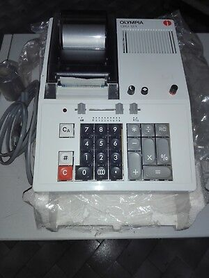 Olympia Cpm 12/1 Del 1974 Vintage Calculator No Olivetti