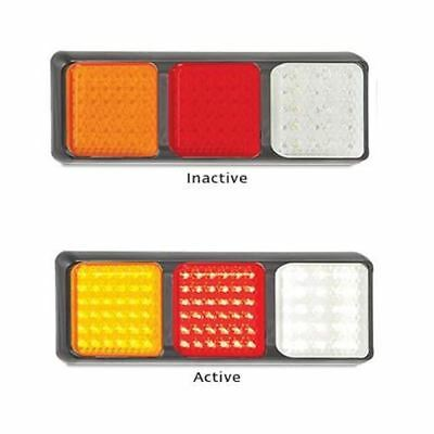 LED Autolamps 80BARWM 12-24 Volt Stop / Tail / Indicator and Reverse Combination