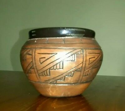 Vintage Nelson Clay Pot
