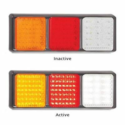 LED Autolamps 100BARWM 12-24 Volt Stop / Tail / Indicator and Reverse Combinatio
