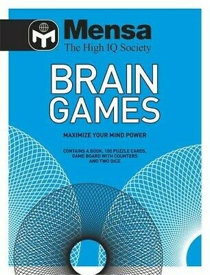 Mensa Brain Games Pack - New Book Mensa