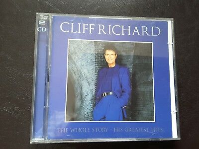 CLIFF RICHARD:THE WHOLE STORY HIS GREATEST HITS 2/Cd Album