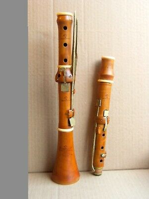 Clarinet, Bb, classical with 7 keys from boxwood by D. Almaine