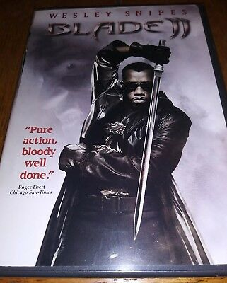 """Blade II (DVD) Starring Wesley Snipes  """"Pure action, bloody well done."""" NEW/SEAL"""