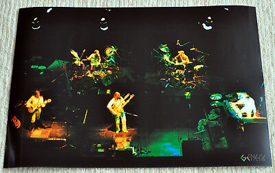 Genesis poster I Know What I Like on Stage 1977 live Poster RaRe
