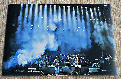 Genesis poster Genesis Seconds Out 1977 Olympia Paris on stage Poster RaRe!