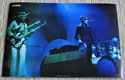 Genesis poster Genesis I know What I like on stage Peter Gabriel Poster RaRe