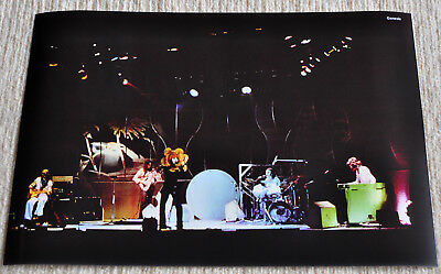 Genesis poster Genesis in Oxford '73 Supper's Ready On Stage Poster RaRe