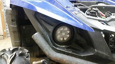 LED Headlights For Yamaha Grizzly 700, Wolverine, And Viking