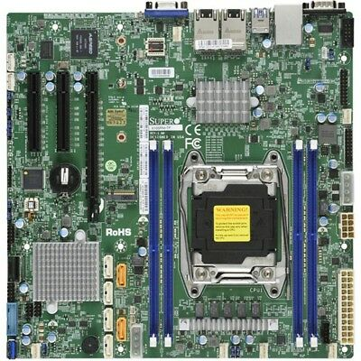 NEW Supermicro Single Socket E5-2600/1600 v4/v3, 4x DDR4 RECC, 1x PCIe x16, M.2,