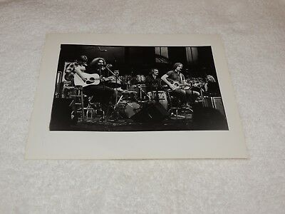 Grateful Dead - 8 x 10 Black & White Original Print - VERY Nice condition!