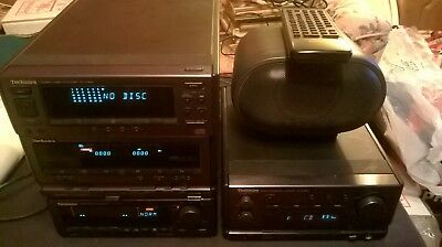 Technics Sc-Ch900  Four Seperates + Centre Speaker + Remote + Leads And Booklets