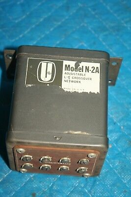 Vintage University High Pass Filter Type N-2A Adjustable Crossover Altec HiFi