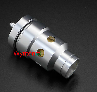 """1"""" 25mm Inlet BOV Blow off Valve Turbo Bypass Brass Piston Anodized Silver"""