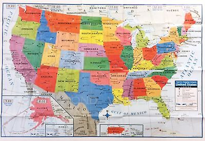World map poster size wall decoration large map of world 40 x 28 usa us map poster size wall decoration large map of united states gumiabroncs Image collections