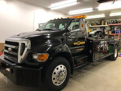 2007 Ford F750 Tow truck