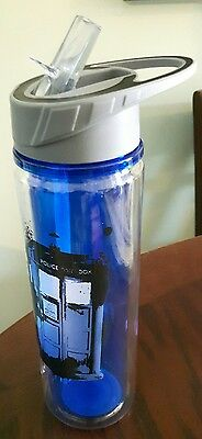 Doctor who travel tumbler from nerd block subscription Dr. Who tardis bad wolf