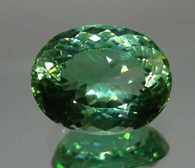 17.ct Green colour Ovel Cut  Kunzite (hiddenite) & Amzing Color from AFGH