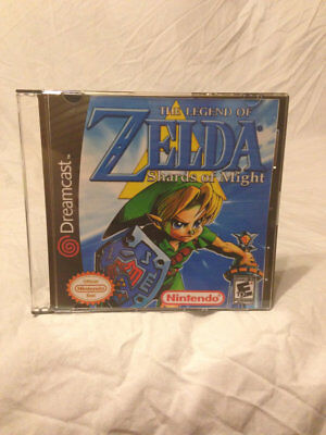 The Legend of Zelda Shards of Might Sega Dreamcast Video Game. Free Shipping!