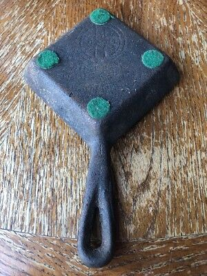 "Vintage Antique Griswold Cast Iron Square Egg Skillet 4.5"" #53 Since 1865"