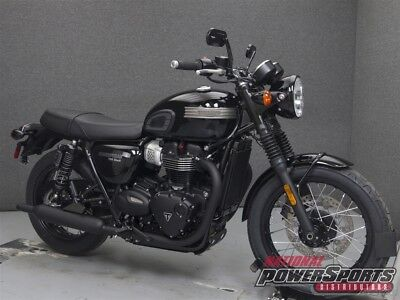 Triumph BONNEVILLE T100 BLACK  2018 TRIUMPH BONNEVILLE T100 BLACK New