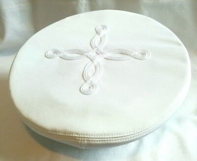 USMC Marine Corps Generals Officers Visor Hat Cap White Dress Cotton Cover