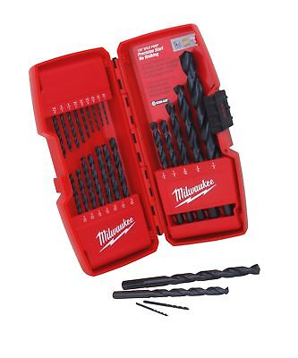 Milwaukee 48-89-2801 21 Piece Thunderbolt Black Oxide Drill Bit Set
