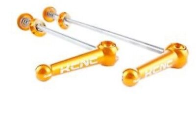 kcnc titanium skewers gold road 100/130mm
