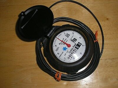 "Badger Model 25 5/8"" 3-wire RTR Register for Water Meter R25 NOS"