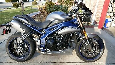 2013 Triumph Speed Triple  pecial Edition ABS - only 250 bikes like this in North America