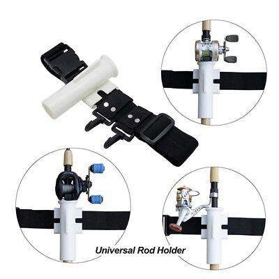 Newest Fishing Rod Holder Fishing Belt Tube Pole Holster An extra Helping Hand