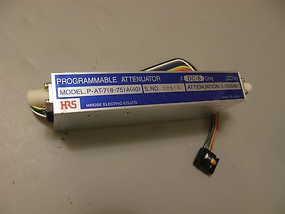 HRS Hirose Microwave programmable attenuator