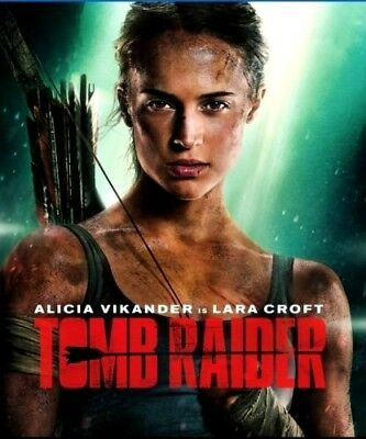 Tomb Raider (DVD,2018) NEW*Action, Adventure* PRE-ORDER SHIPS ON  06/12/18