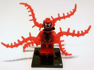 Carnage Minifigure - NEW - Lego compatible figure spider-man symbiote