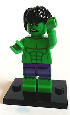 The Hulk Minifigure - NEW in bag - Lego compatible figurine figure