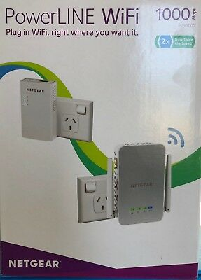 Netgear PowerLINE WiFi Extender leap through walls/floors to access WiFi itWORKS