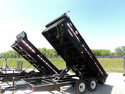 Pj 16' Heavy Duty Dump Trailer #1 Selling In Usa *on Sale Now @ Dr Trailer *save