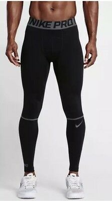 caf0f50ab4 Nike Pro Hyperwarm Tights Black Mens Size S 802002-010 Training Compression