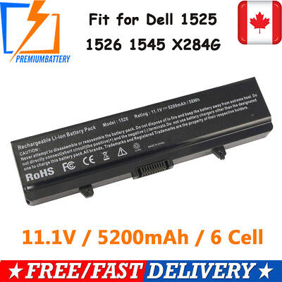 Battery FOR DELL INSPIRON 1525 1526 1545 RN873 GW240 RU586 PP41L 312-0625 M911G#