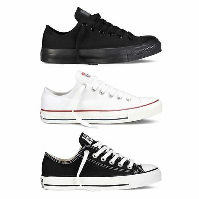*NEW*Converse Chuck Taylor All Star Lo Top Mens Womens Unisex Canvas Trainers