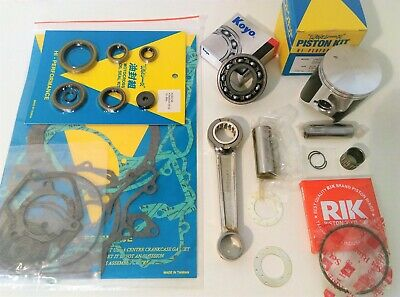 Husqvarna WR125 Full Engine Rebuild Kit Con Rod Mains Piston Gaskets 1997-2016
