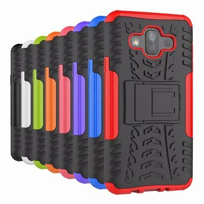 For Samsung Galaxy J7 Duo 2018 Case Shockproof Armor Hybrid Kickstand Hard Cover