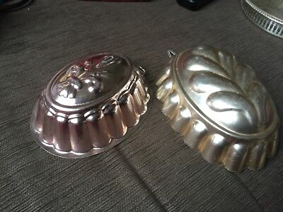 Lot of 4 copper Kitchen decor hanging ornaments from Mums house cleanout VGUC