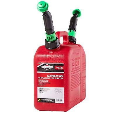 Combo Can 1.5 Gal.  Smart-Fill Spout with Twist-Anchor Compartment Gas Combo Oil