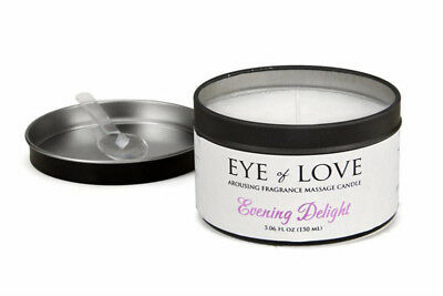 Eye Of Love - Huile Massage - EOL Bougie de Massage Soirée Delight 150ml - Wit