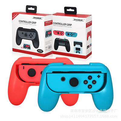 4 Styles JoyCon Controller Handle Grip Handheld Holder For Nintendo Switch 2pcs