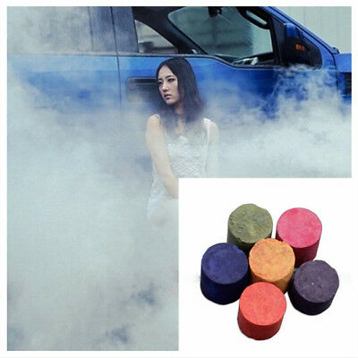 Colorful Smoke Cake Smoke Effect Show Round Bomb Photography Aid Divine Toy Gift