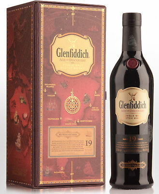 Glenfiddich Age of Discovery Red Wine Cask Finish 19 Year Old Single Malt Sco...