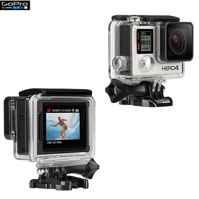 Gopro Hero 4 Silver Edition Originale Ricondizionata Grado A Con Display