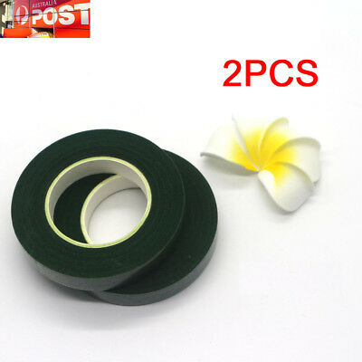 2XFloral Stem Wrap Florist Artificial Flower Metallic Tape Wire Coverage Craft